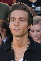 "WESTWOOD, LOS ANGELES, CA, USA - MARCH 18: Matthew Koma at the World Premiere Of Summit Entertainment's ""Divergent"" held at the Regency Bruin Theatre on March 18, 2014 in Westwood, Los Angeles, California, United States. (Photo by Xavier Collin/Celebrity Monitor)"