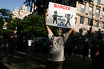 "Protest againts ""stop-and-frisk"" in NYC"