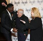 Colman Domingo, John Kander and Susan Stroman  attends the Vineyard Theatre Gala honoring Colman Domingo at the Edison Ballroom on May 06, 2019 in New York City.