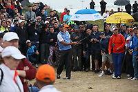 Matt Kuchar (USA) plays from the rough at the 10th during Sunday's Final Round at The 146th Open played at Royal Birkdale, Southport, England.  23/07/2017. Picture: David Lloyd | Golffile.<br /> <br /> Images must display mandatory copyright credit - (Copyright: David Lloyd | Golffile).
