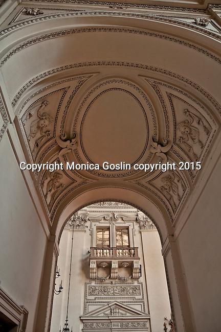 Inside Salzburg Cathedral
