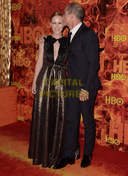 20 September  2015 - West Hollywood, California - Rachel Brosnahan, Michael Kelly. Arrivals for the 2015 HBO Emmy Party held at the Pacific Design Center. <br /> CAP/ADM/BT<br /> &copy;BT/ADM/Capital Pictures