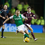 9.3.2018: Hibs v Hearts:<br /> Dylan McGeouch and Anthony McDonald