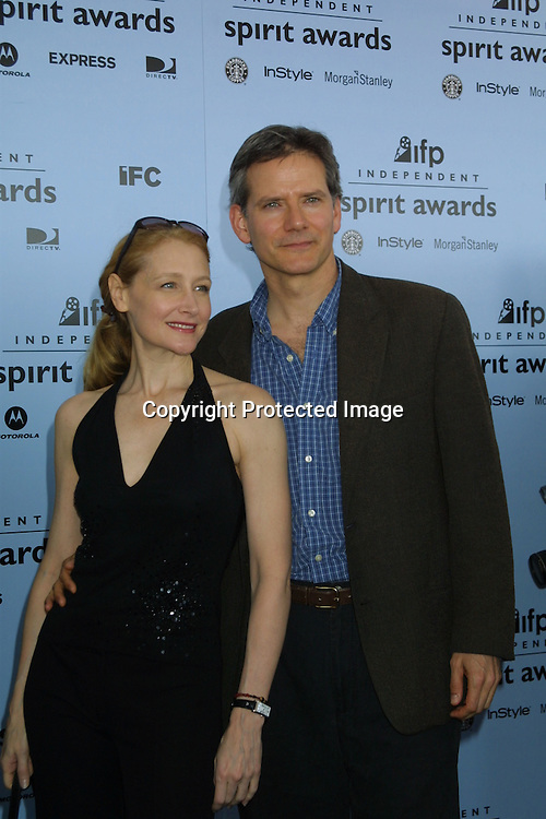 ©2003 KATHY HUTCHINS/ HUTCHINS PHOTO.INDEPENDENT SPIRIT AWARDS.SANTA MONICA, CA.March 22, 2003..PATRICIA CLARKSON.CAMPBEL SCOTT