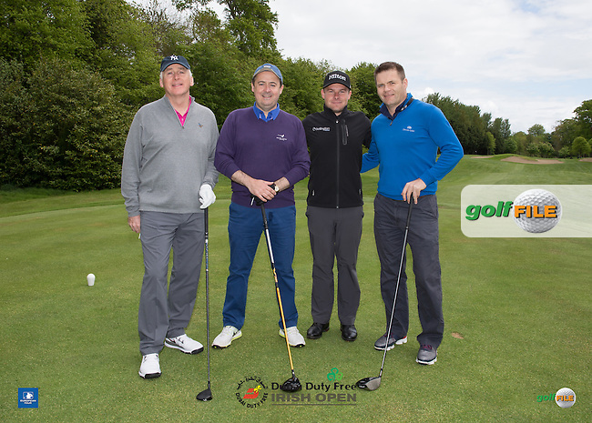/{prsn}/ during Wednesday's Pro-Am ahead of the 2016 Dubai Duty Free Irish Open Hosted by The Rory Foundation which is played at the K Club Golf Resort, Straffan, Co. Kildare, Ireland. 18/05/2016. Picture Golffile | David Lloyd.<br /> <br /> All photo usage must display a mandatory copyright credit as: &copy; Golffile | David Lloyd.