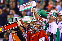 "The Matraqueros known as amateurs to the ""besbol"" that for more than 30 years come to support the Mexican team. Caribbean Series 2018 held at Charros de Jalisco Stadium in Guadalajara, Mexico, Friday, February 2, 2018. (AP Photo / Luis Gutierrez)"