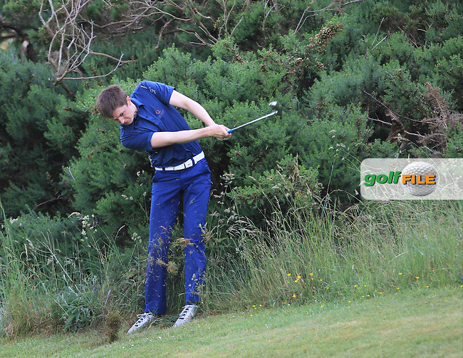 John Cleary (Elm Park) on the 12th during Round 3 of the 2016 Connacht Strokeplay Championship at Athlone Golf Club on Sunday 12th June 2016.<br />