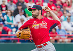 7 March 2015: St. Louis Cardinals pitcher Jaime Garcia on the mound during a Spring Training game against the Washington Nationals at Space Coast Stadium in Viera, Florida. The Cardinals fell to the Nationals 6-5 in Grapefruit League play. Mandatory Credit: Ed Wolfstein Photo *** RAW (NEF) Image File Available ***