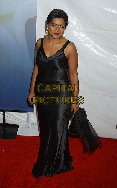 MINDY KALING.2006 Writers Guild Awards held at The Hollywood Palladium, Hollywood, California, USA..February 4th, 2006.Photo: Laura Farr/AdMedia/Capital Pictures.Ref: LF/ADM.full length black dress.www.capitalpictures.com.sales@capitalpictures.com.© Capital Pictures.