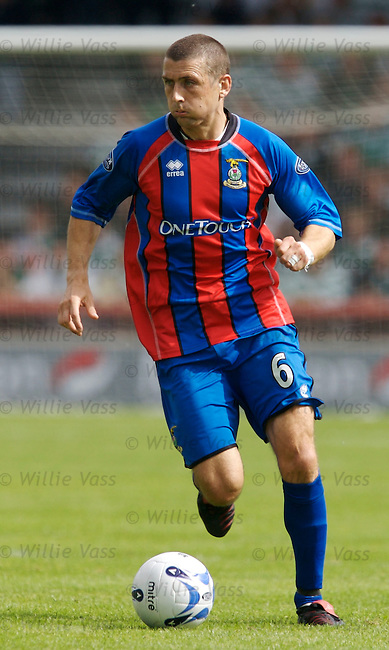 Roy McBain, Inverness Caledonian Thistle.stock season 2006-2007.pic willie vass