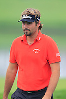 Victor Dubuisson (FRA) on the 11th green during Friday's Round 2 of the 2014 BMW Masters held at Lake Malaren, Shanghai, China 31st October 2014.<br /> Picture: Eoin Clarke www.golffile.ie