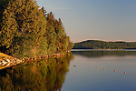 View of Rangeley Lake State Park, Maine, USA.