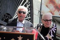 LOS ANGELES - APR 28:  Dick Van Dyke, Barbara Bain at the Bairbara Bain Hollywood Walk of Fame Star Ceremony at the Hollywood Walk of Fame on April 28, 2016 in Los Angeles, CA