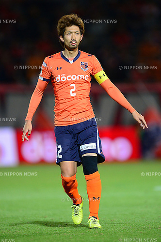 Kosuke Kikuchi (Ardija),.APRIL 10, 2013 - Football / Soccer :.2013 J.League Yamazaki Nabisco Cup Group A match between Omiya Ardija 1-3 Ventforet Kofu at NACK5 Stadium Omiya in Saitama, Japan. (Photo by AFLO)