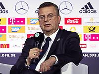 DFB-Präsident Reinhard Grindel - 15.05.2018: Vorläufige WM-Kaderbekanntgabe, Deutsches Fußballmuseum Dortmund