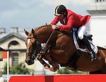 Olympic Games 2012; Equestrian - Venue: Greenwich Park. Philippe le Jeune (BEL).Horse: Vigo d'Arsouilles.