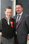 Brendan Long with his sponsor Kevin Long at Scoil an Spioraid Naoimh NS Confirmation in Laytown Church...Photo NEWSFILE/Jenny Matthews.(Photo credit should read Jenny Matthews/NEWSFILE)....This Picture has been sent you under the condtions enclosed by:.Newsfile Ltd..The Studio,.Millmount Abbey,.Drogheda,.Co Meath..Ireland..Tel: +353(0)41-9871240.Fax: +353(0)41-9871260.GSM: +353(0)86-2500958.email: pictures@newsfile.ie.www.newsfile.ie.FTP: 193.120.102.198.