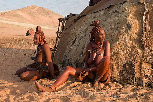 Himba women in Northwest Namiba.g