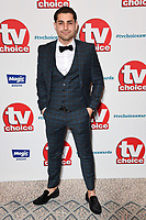 LONDON, UK. September 10, 2018: Ryan Clayton at the TV Choice Awards 2018 at the Dorchester Hotel, London.<br /> Picture: Steve Vas/Featureflash
