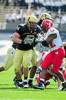06 September 08: Colorado nose tackle Brandon Nicolas (94) on a play against Eastern Washington. The Colorado Buffaloes defeated the Eastern Washington Eagles 31-24 at Folsom Field in Boulder, Colorado. FOR EDITORIAL USE ONLY