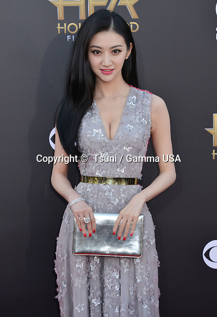 Jing Tian 037 at the Hollywood Film Awards 2014 at the Palladium on Nov. 14, 2014 in Los Angeles.
