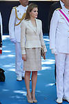 Princess Letizia of Spain attends 2014 Spain Armed Forces Day in Madrid, Spain. June 08, 2013. (ALTERPHOTOS/Victor Blanco)