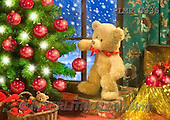 Marek, CHRISTMAS ANIMALS, WEIHNACHTEN TIERE, NAVIDAD ANIMALES, teddies, photos+++++,PLMP3335,#Xa# under Christmas tree,