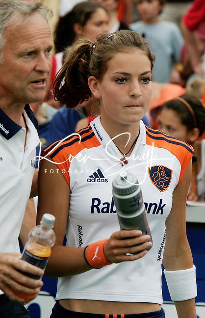 AMSTELVEEN: Champions Trophy 2006 dames. Eva de Goede.  ANP PHOTO KOEN SUYK