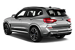 Car pictures of rear three quarter view of 2020 BMW X3 M-Competition 5 Door SUV Angular Rear