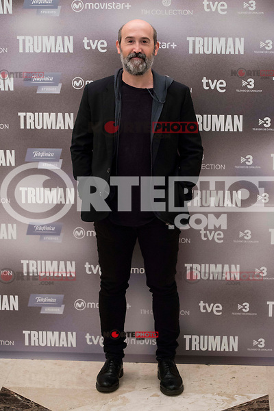 """Spanish actor Javier Camara during the presentation of the film """"Truman"""" at NH Tepa´s Palace in Madrid October 26, 2015. <br /> (ALTERPHOTOS/BorjaB.Hojas) /NortePhoto"""