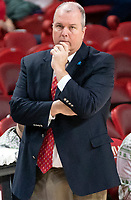 COLLEGE PARK, MD - DECEMBER 8: Loyola head coach Joe Logan during a game between Loyola University and University of Maryland at Xfinity Center on December 8, 2019 in College Park, Maryland.