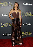 LOS ANGELES, CA, USA - DECEMBER 06: Stana Katic arrives at The Music Center's 50th Anniversary Spectacular held at The Music Center - Dorothy Chandler Pavilion on December 6, 2014 in Los Angeles, California, United States. (Photo by Celebrity Monitor)