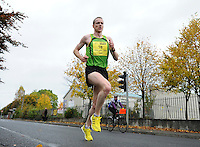 26/10/2015; 2015 SSE Airtricity Dublin Marathon, St Laurence's Road, Dublin. <br /> Sean Hehir of Rathfarnham AC.<br /> Picture credit: Tommy Grealy/actionshots.ie.