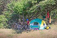 Camping with Felix, Rancho Santa Helena, Hidalgo, Mexico