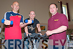 Listowel Health Fair: Demonstrating their strength & fitness at the Listowel Health fair at the Seanachi Centre on Saturday were Jimmy Butler & Anthony Boyle ans being supervised by Pavel Karakehayov from the Listowel Sports Centre.