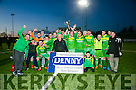 Winners Mitchels Avenue at the Denny Division 2A League Final Mitchels Avenue v Ballyheigue Athletic at Mounthawk Park on Friday