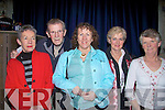 Enjoying The Chastitute at St. john's theatre, Listowel on Saturday night were,Mary and Barnard Stack,Patricia Dunne, Daisy Foley and Ann O'Keeffe.   Copyright Kerry's Eye 2008