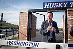 Opening of the new Husky Track 4/26/13