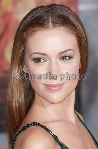 "18 September 2008 - Hollywood, California - Alyssa Milano. ""Beverly Hills Chihuahua"" Los Angeles Premiere held at the El Capitan Theatre. Photo Credit: Charls Harris/AdMedia"