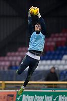 23rd November 2019; Caledonian Stadium, Inverness, Scotland; Scottish Championship Football, Inverness Caledonian Thistle versus Dundee Football Club; Conor Hazard of Dundee during the warm up before the match  - Editorial Use