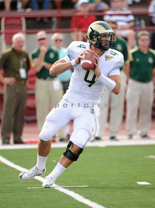PETE THOMAS, of  the Colorado State Rams, in action during the Rams game against the Miami of Ohio Redhawks on September 18, 2010 in Oxford, Ohio...Miami of Ohio wins 31-10..SportPics