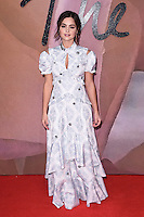Jenna Coleman<br /> at the Fashion Awards 2016, Royal Albert Hall, London.<br /> <br /> <br /> &copy;Ash Knotek  D3210  05/12/2016