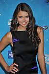LOS ANGELES, CA. - October 17: Nina Dobrev arrives at Spike TV's Scream 2009 held at the Greek Theatre on October 17, 2009 in Los Angeles, California.