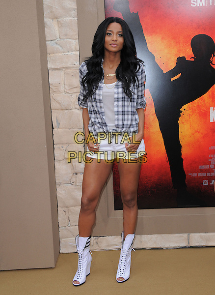 Ciara at the Columbia pictures L.A. Premiere of The Karate Kid held at The Mann Village Theatre in Westwood, California on June 07,2010                                                                               © 2010 Debbie VanStory / Hollywood Press Agency.CAP/RKE/DVS.©DVS/RockinExposures/Capital Pictures.