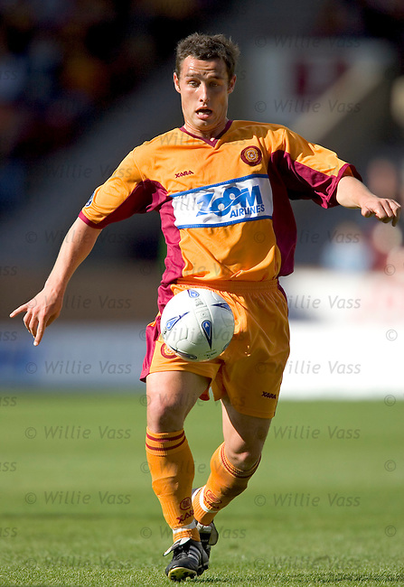 Scott McDonald, Motherwell.stock season 2004-2005.pic willie vass