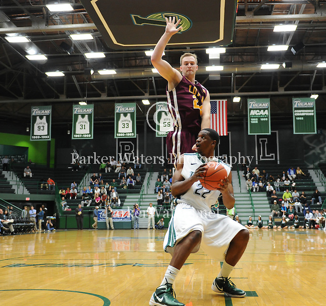 Tulane defeats Loyola in Men's Basketball, 69-57, at Devlin Fieldhouse to claim the championship of Freret Street.
