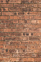 Brick wall detail.