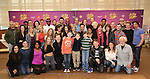 The cast attend the ''Charlie and the Chocolate Factory' Cast Photo Call at the New 42nd Street Studios on February 21, 2017 in New York City.