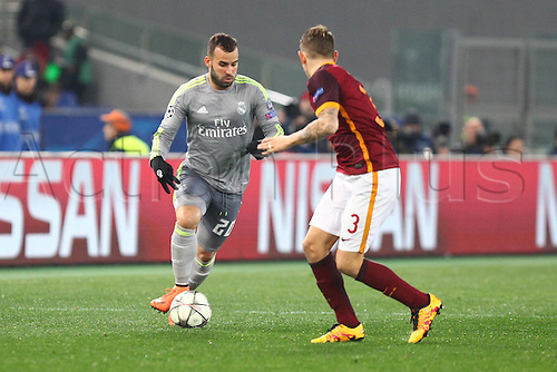 17.02.2016. Stadio Olimpico, Rome, Italy. UEFA Champions League, Round of 16 - first leg, AS Roma versus Real Madrid.  JESE RODRIGUEZ RUIZ