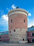 Zamek w Lublinie. Wieża zamkowa cenny zabytek sztuki romańskiej